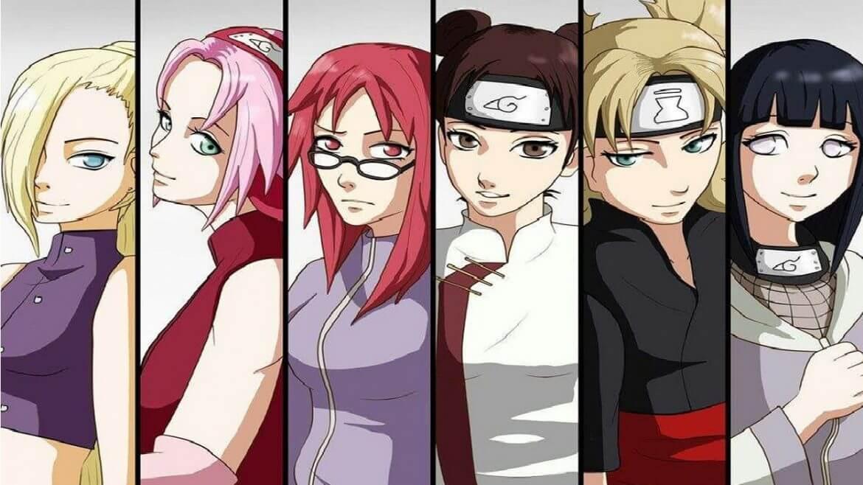 Naruto Kadın Karakterler ve Kadın Karakterlerin Güçleri
