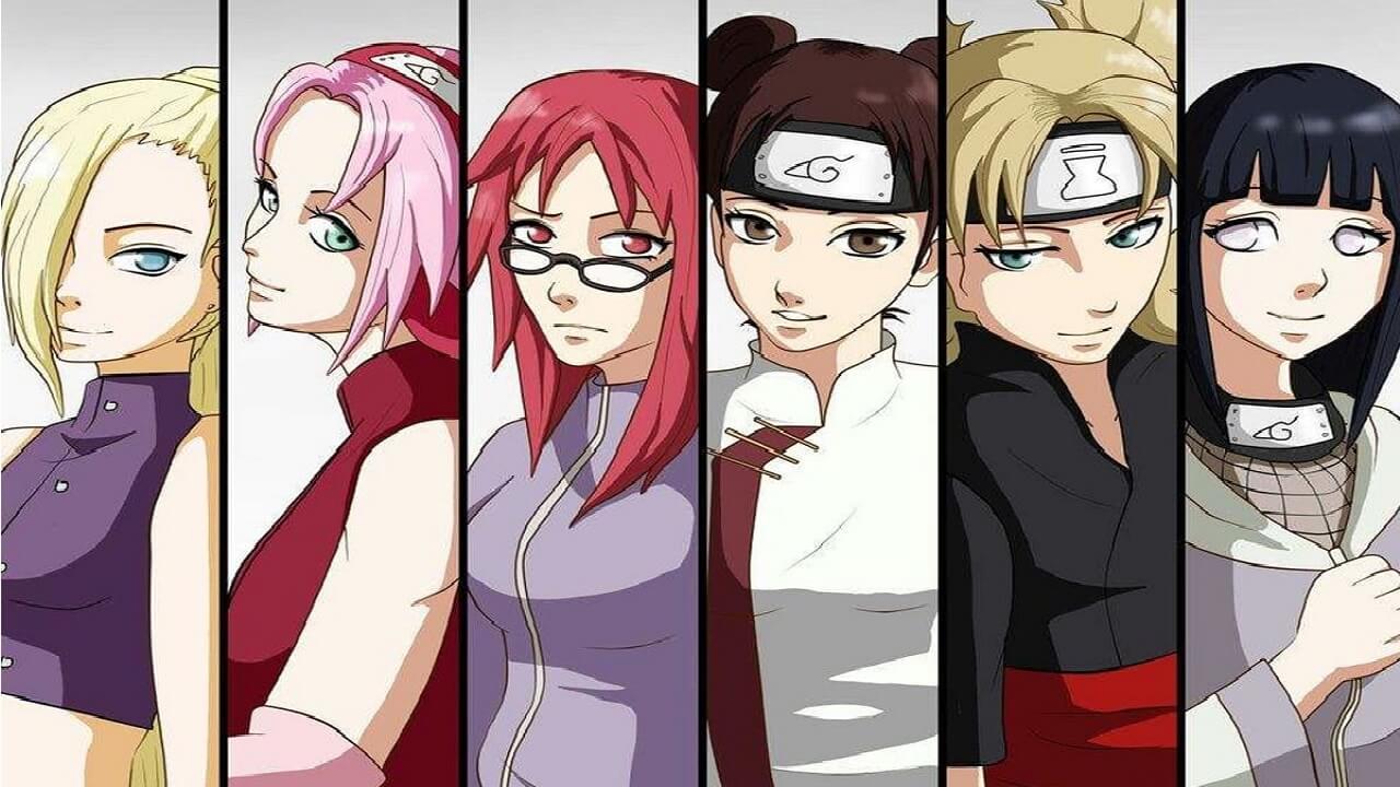 Naruto Kadın Karakterler ve Kadın Karakterlerin Güçleri - Anime Sitesi