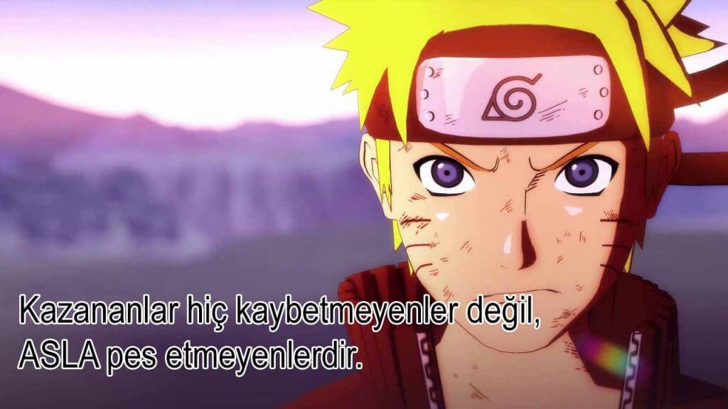 Uzumaki Naruto Sözleri