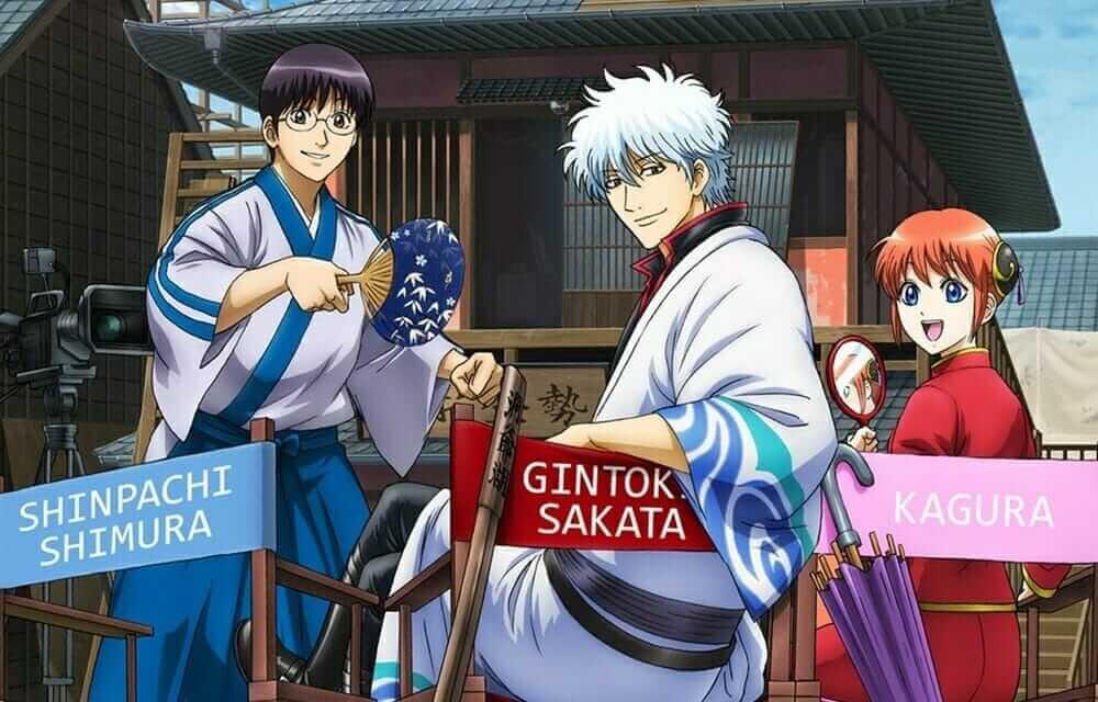 Gintama anime karakterleri