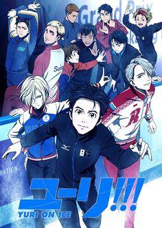 Spor konulu anime önerileri Yuri!!! on Ice